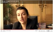 Interview video sur le Grand-Paris de Cécile Duflot Europe-Ecologie-Les-Verts