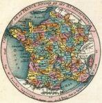 carte des départements français en 1790